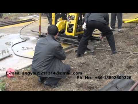 hydraulic drilling rig video 09 for upload