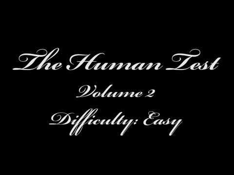 The Human Test (Volume 2)