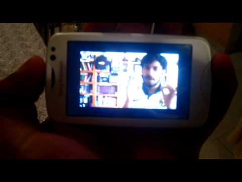 Youtube en Sony Ericsson txt pro