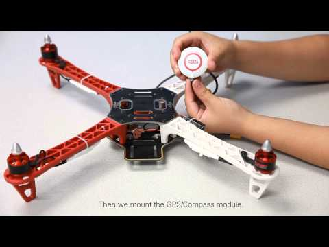 DJI Naza-M Setup Demo-Main Controller Assembly