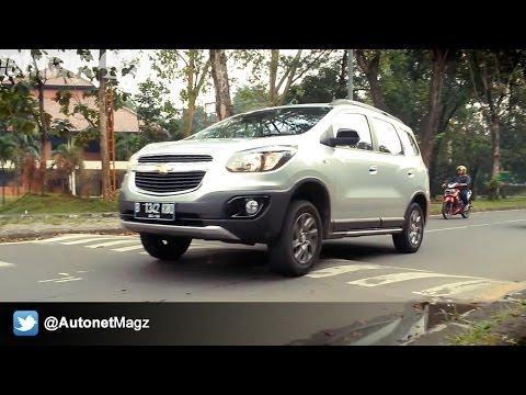 Test Drive Chevrolet Spin Activ Indonesia - Part 2