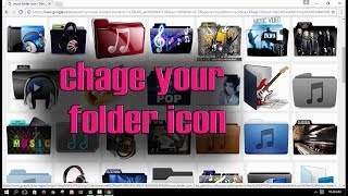 How to change folder Icon on PC, how to change folder icons Windows 10