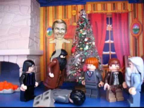 Lego Harry Potter Christmas and the Ghost of Paul Lynde