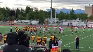 Dimond vs Wasilla JV Football game