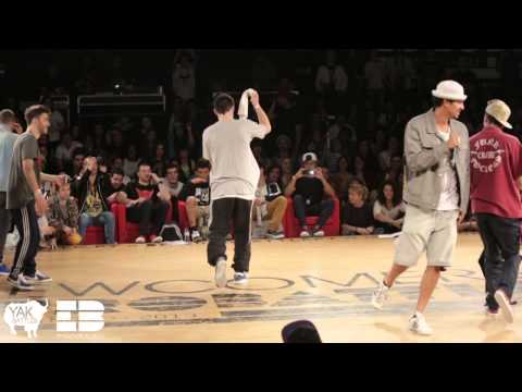 SAMBO vs LUAN Bboy 1on1 Final EUROBATTLE 2013 Porto, Portugal