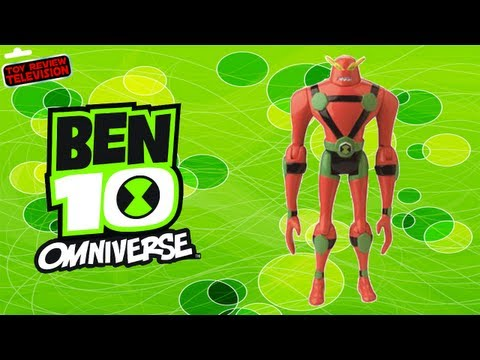 Ben 10 Omniverse NRG Energy Form Action Figure Toy Review Unboxing, Bandai
