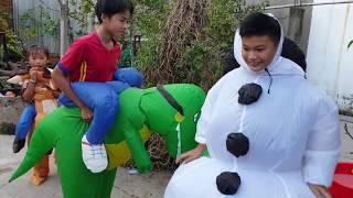 Trò Chơi Người Tuyết Giáng Sinh ❤ ChiChi ToysReview TV ❤ Đồ Chơi Trẻ Em Baby Fun