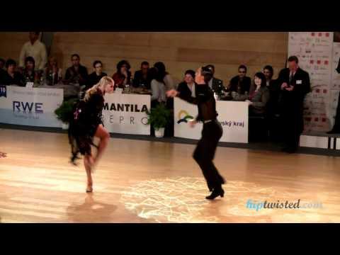 Gabriele Goffredo - Anna Matus, Brno Open 2012, Wdsf Int Open Latin, 4. Round - Samba video
