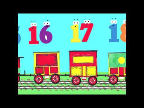The number train - count from 1 to 20 with Play n Learn