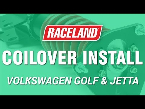 How To Install Raceland VW MK2/3 Coilovers