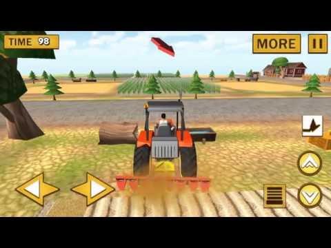 трактор - машины - мультфильм для детей
