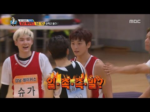 [Idol Star Athletics Championship] 아이돌스타 선수권대회 2부 - 2AM Jeong Jinwoon & VIXX Hongbin 20150929