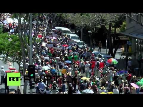 Australia: See thousands march in anti-G20 protest