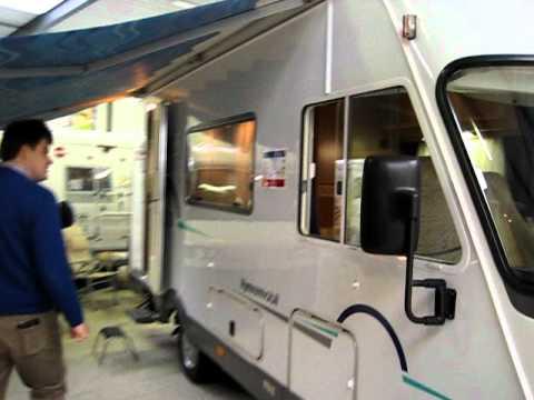 Hymer B 584 camper van Bj 2000 bij Meerbeek Caravans & Campers