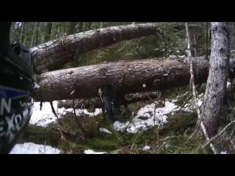 Wilderness Off Grid Cabin - ATV trip - Part 2 of 2