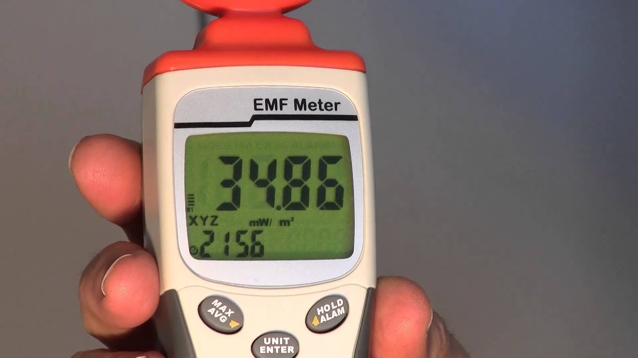High Frequency Meter : How to measure high frequency electrosmog with a radio