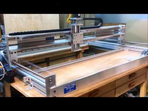 Just assembled CNC Router TEST RUN See what to avoid!!! fixed