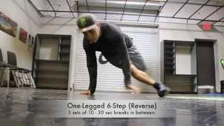 Bboy Moy Advanced Training Drills