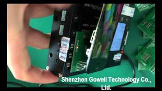 New 7 in 1 LCD tester for testing ori and high copy LCD of Apple iPhone--From Gowell