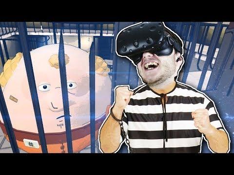 СИМУЛЯТОР ТЮРЬМЫ В ВР! - Prison Boss VR - HTC Vive ( VR, Виртуальная Реальность )