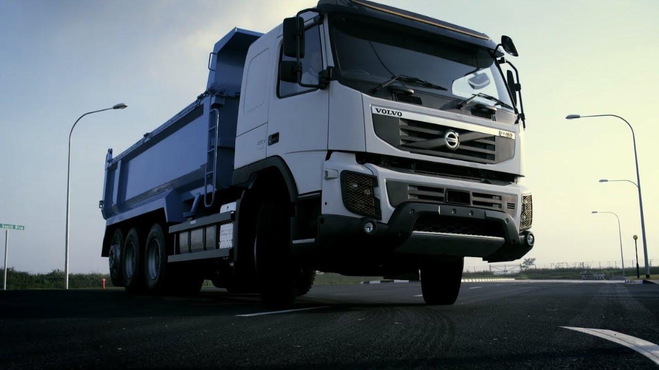 Volvo Trucks - FMX Tridem: Maximising productivity - YouTube