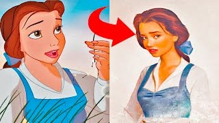 Disney Princesses Re-imagined as