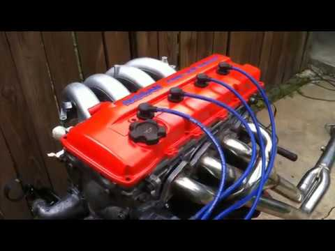 Knocking ka24de Nissan 240sx engine rebuild