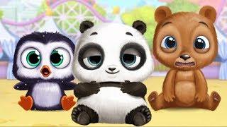 Trò Chơi Làm Kẹo, Chơi Đu Quay, Ngựa Bập Bênh,Trang Điểm Cùng Gấu Panda - Panda Lu Fun Park   MinMin