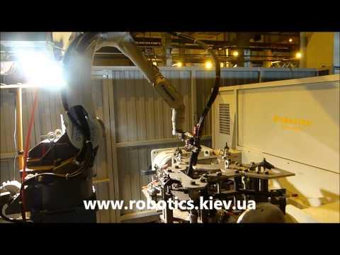 Запущено новий складний кондуктор для зварювання роботом