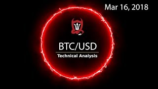 Bitcoin Technical Analysis (BTC/USD) Root or Route... [03/16/2018]