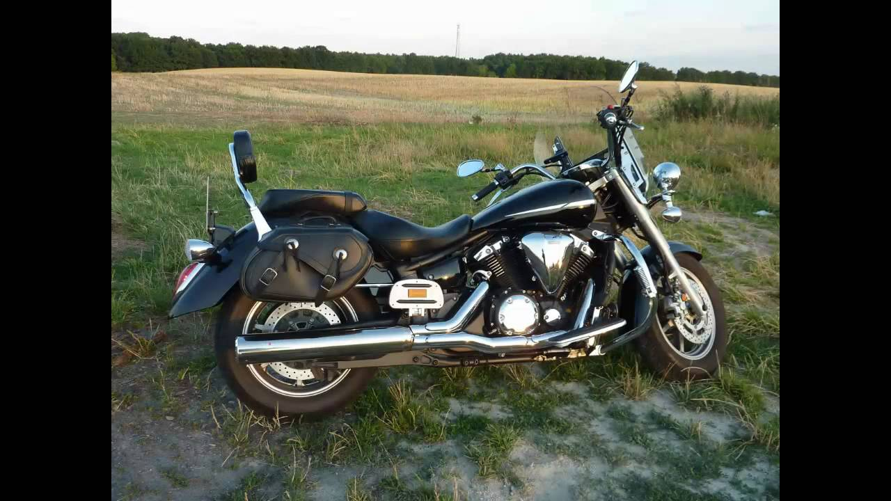 yamaha v star xvs 1300 midnight star original exhaust vs