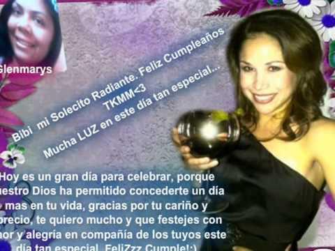 Feliz Cumpleaños Bianca Marroquín ♥