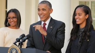 President Obama Gushes Over Daughters Sasha and Malia Admits They Complained About Secret Service