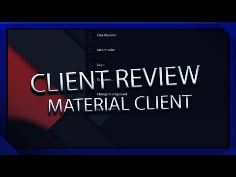 CLIENT REVIEW // Material Hacked Client b1 // Free Download