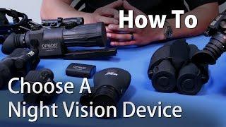 How To Choose A Night Vision Device - OpticsPlanet.com