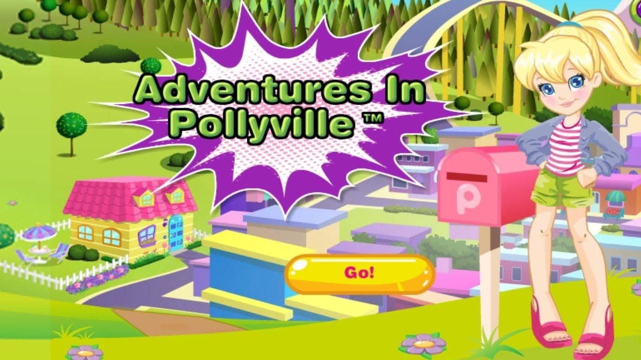Polly's Hair Stylin' Salon - Girl Games