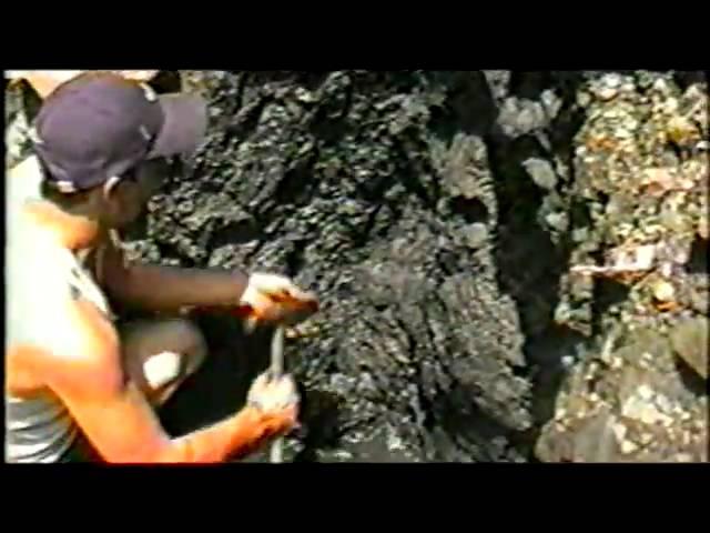rafael sacando esmeraldas en muzo