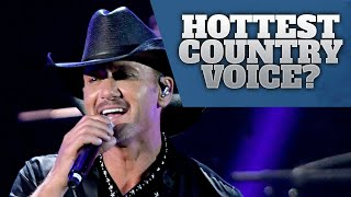 Download Lagu Country Music's 10 Sexiest Male Voices Gratis STAFABAND