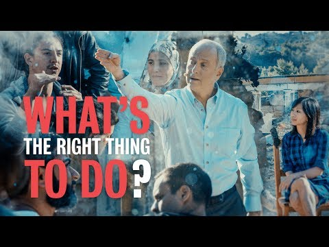 What's the Right Thing to Do? - Filosoof Michael Sandel