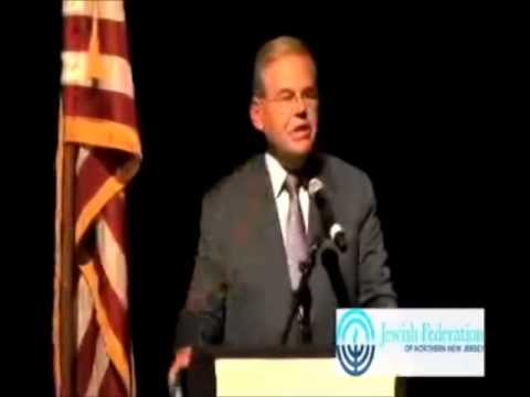 Israel Solidarity Rally July 24 2014 U.S. Senator Robert Menendez