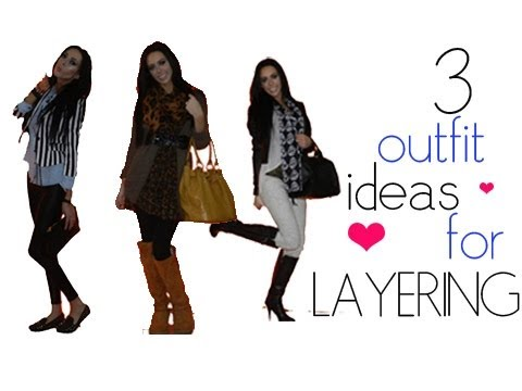 How to Layer Clothes? Fall Fashion ideas For Layering your outfits!