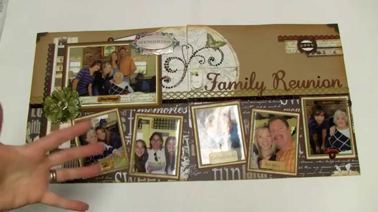 ... Video 8 - Family and Travel 12x24 Pages using Page Maps - YouTube