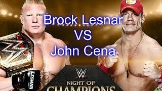 download lagu Wwe John Cena Vs Brock Lesnar Night Of Champions gratis