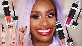 DIOR Lip Lacquer Plump: Ooooooh LAWD!  | Jackie Aina