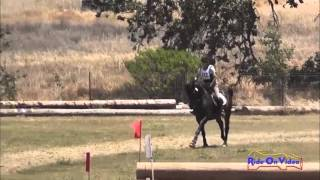 122XC Suze Randall Knipe SR Novice Rider Cross Country Shepherd Ranch June 2013