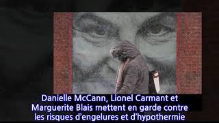 Alerte au froid glacial sur tout le Québec