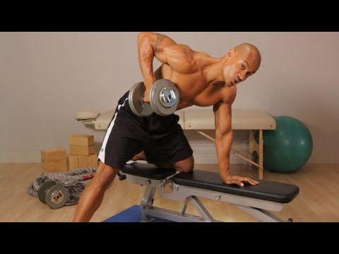 How to Do a Dumbbell Row | Back Workout Image 1
