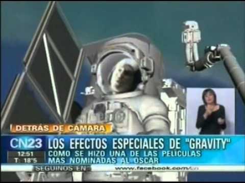 Los efectos especiales de Gravity