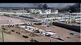 Gas Field Explosion