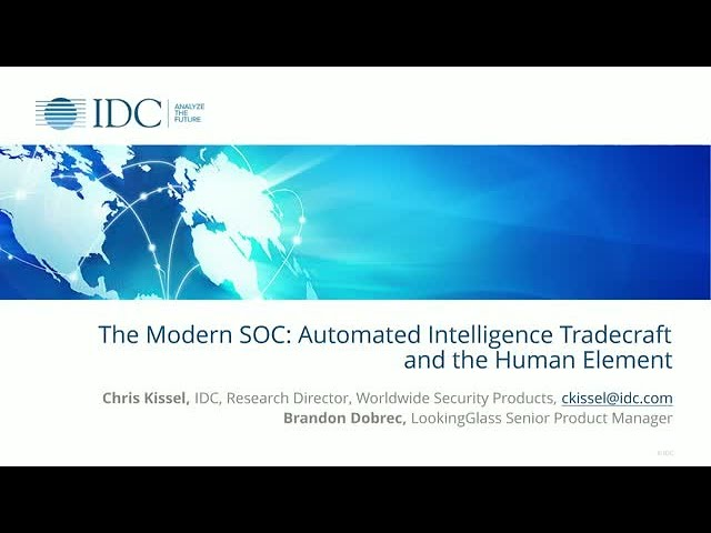 The Modern SOC: Automated Intelligence Tradecraft and the Human Element
